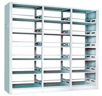 Knock-Down Structure School Furniture Metal Bookcase in Luoyang