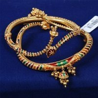Colourful Gold Necklace
