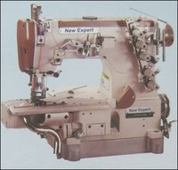 3 Needle Cylinder Bed Chain Stitch Interlock Sewing Machine With Suction Device For Hemming Bottoms