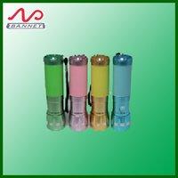 14 LED Fluorecent Rubber Flashlight Torch