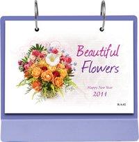 Flowers Desk Calendar