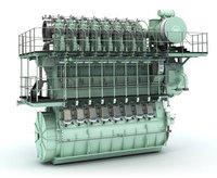 Two Stroke Low Speed Marine Diesel Engine
