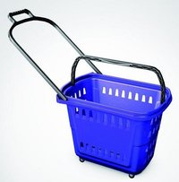 42l Rolling Shopping Baskets