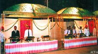 Wedding Decorated Stalls
