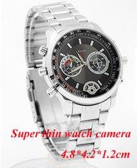 Super Slim Upscale Low Illumination 1 Lux Waterproof Spy Motion Detection Watch Camera