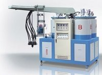 Three Color Three Density Pu Shoe (Sole) Pouring Machine
