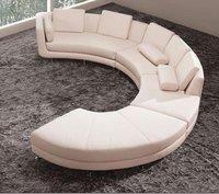 Modern Living Room Leather Sofa Set