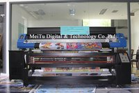 Textile Printer With Sublimation Ink And Reactive Ink