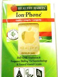 24k Gold Apple Anti Radiation Sticker