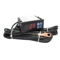 Alarm Temperature Monitor For Automobile Engine And Water Tank