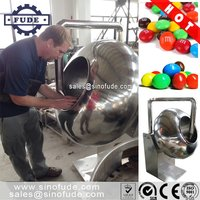 Chocolate sugar nuts coating machine