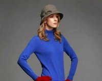 High Neck Lady Cashmere Sweater
