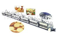 Tk-Z500 Two Row Double Color Biscuit Sandwiching Machine