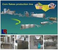 Corn Falkes Twin Screw Snack Food Extruder