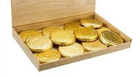 Dark Ivory Gold Coins- Large