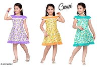 100% Cotton Frock For Girls