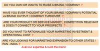 Branding And Marketing Consultancy Service