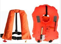 Marine Single And Double Air Chamber Inflatable Life Jacket (Sy-A150)