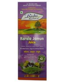 Rishi Naturals Karela Jamun Juice (1000 Ml)