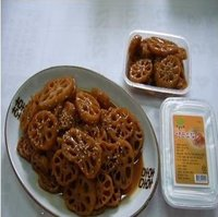 Lotus Roots Boiled In Soy Sauce