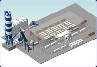 Automated Lines For Polystyrene Concrete Production