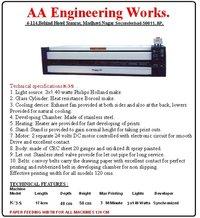 Blue Print Machine