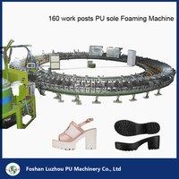 Shoe Sole Turntable Assembly Line Polyurethane Foam Machines