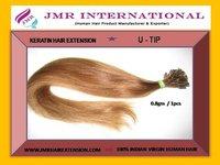 Keratin Pre Bond Hair Extension U - Tip Model