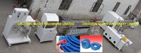 High Output Pvc Tpu Twisted Strengthened Tube Plastic Extruder Machine