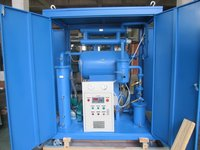 Single Stage Waste Transformer Oil Filtering Machine