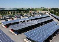 Solar Lighting Steel Carport Mount System