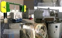 Multi Wire Granite Cutting Machine