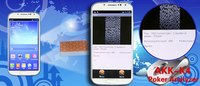 White K4 Samsung Galaxy Mobile Poker Analyzer Scanner and Poker System
