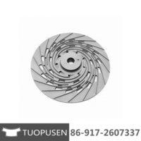 Impeller Titanium Casting