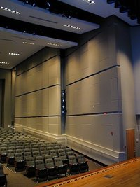 Auditorium Acoustical Wall Panelling