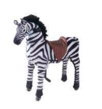Black White Zebra Toy