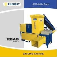 Rice Husk Compress Baler Machine And Rice Husk Bagging Machine