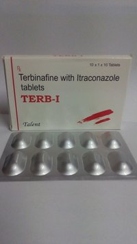 Terb-I (Terbinafine With Itraconazole Tablets)