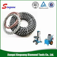 11.5mm Portable Diamond Wire Saw For Quarry