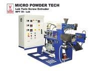 Powder Coating Lab Model Twin Screw Extruder
