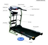 Treadmill With Massager & Twister