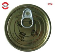 300 Tinplate Easy Open End For Canned Tuna Fish Packaging