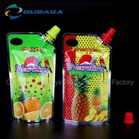 Spout Bags For Juice Beverage