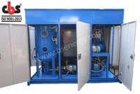 Double Stage Filtration System For Transformer Oil