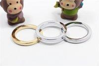 Stainless Gold Steel Metal O Rings Circle Ring