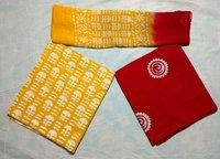 Women Unstitched Batik Print Cotton Suit