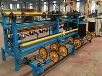 Double Wires Full Automatic Chain Link Fence Machine