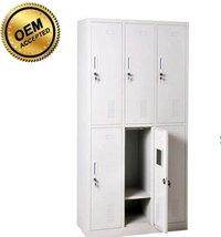School Furniture 6 Door Steel Cabinet Locker in Luoyang