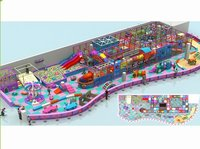 Children Indoor Playground Naughty Castle Plastic Toy