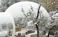 Inflatable Bubble Camping Tent Single Tunnel With Blower 5m